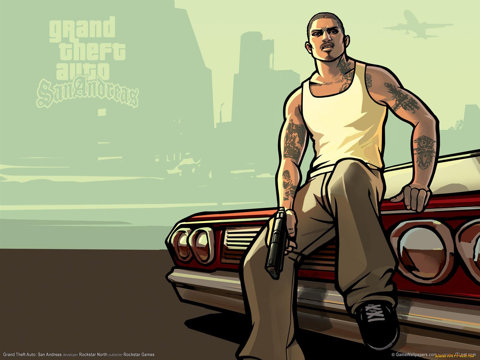 GTA San Andreas.